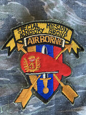Vietnam Special Forces MACV SOG Airborne Special Mission Advisory Group Patch