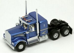 Athearn HO KW Kenworth OwnerOperator Truck Tractor Blue/Silver 1/87 ATH41048 NEW