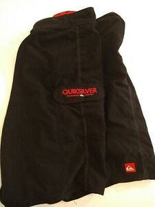 Quiksilver Board Shorts Size 34 Black 100% Polyester