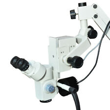 Dental Microscope 5 Step Magnification With Hd Camera With Led Light Free Ship