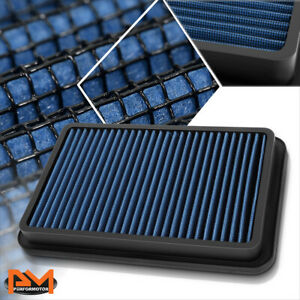 For 92-02 Corolla/Millenia/Prizm Reusable Multilayer High Flow Air Filter Blue