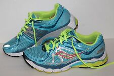Saucony ProGrid Pinnacle 2 Running Shoes, #15160-3, Blue/Pink/Neon, Womens US 9