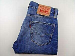 """VGC* LEVIS 504 Mens Jeans Straight Leg Blue Denim SIZE W32 L36 Waist 32"""" Leg 36"""""""