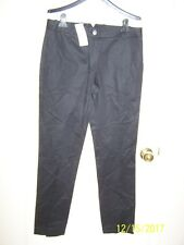 "NWT women's ""LACOSTE"" black pants  HF2046 - Noir - size 6 (T38)"