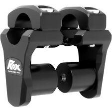 "ROX PIVOTING HANDLEBAR RISER FOR 28,6 mm (11/8"") HANDLEBARS 51mm BLACK ANODIZED"