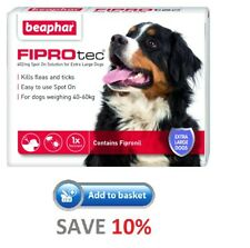 Beaphar FIPROtec for Extra Large Dogs 3 Pipettes