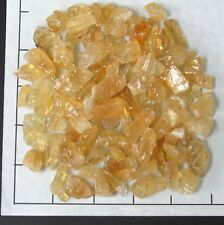 "CALCITE CHUNKS, Honey Citrine 1/2-1"" rough 1/2 lb bulk stones natural"