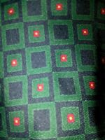 Polo Ralph Lauren Silk Tie Made By Hand In USA Blue Green Red Geometric