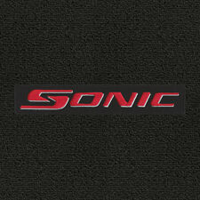 Lloyd Mats Classic Loop Ebony Front Floor Mats for Chevrolet Sonic 2012 to 2017