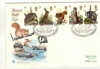 """GB.1977. """" BRITISH WILD LIFE """" STUART .FDC.WITH SPECIAL HANDSTAMP ."""