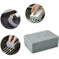 BBQ Scraper Brush Pumice Grill Cleaner Cleaning Stone Griddle Barbecue P0R9