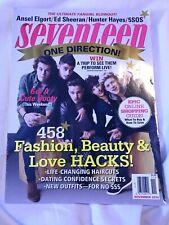 Seventeen Magazine November 2014 One Direction