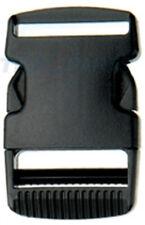 10 St. Steckschnalle Steckschließer f. 40mm Gurtband Acetal Steckschnallen