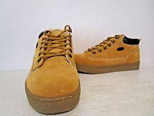 Lugz Mens Thermabuck Fleece Casual Low Sneaker Work Shoe GldnWheat/Cream/Bark  9