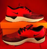 Mens Nike Odyssey React 2 Flyknit AH1015-600 University Red/Black NEW Size 10
