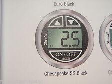 DEPTH SOUNDER FINDER DIGITAL 678-13750 TRANSDUCER TRANSOM CHESAPEAKE SS BLACK