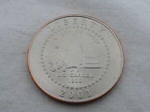 2001 U.S. Liberty Uncirculated Half Dollar SB-12