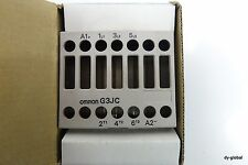 OMRON SSR G3JC-208BL SOLID STATE RELAY ELEC-I-66=o504