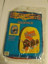 1987 California Raisins Backpack brand new in plastic!