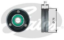 GATES Polea inversión/guía, correa poli V para AUDI A6 A8 VW TOUAREG T36730