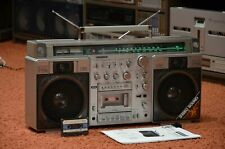 SANYO M-X920 F Vintage Stereo Cassette Recorder Boombox full working see VIDEO