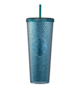 Starbucks Korea Victory Green Bling Stud Cold Cup 710ml + DHL