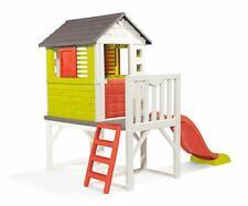 Stelzenhaus Spielhaus Rutsche Smoby 810800 XL Spielspaß Villa Spielzeug Kinder