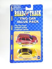 Maisto Road & Track Two Car Value Pack PT Cruiser and Pronto Cruizer NEW 1/64