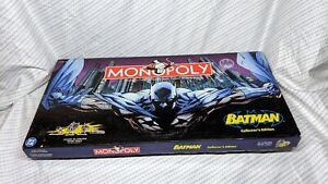 2005 BATMAN Collector's Edition Monopoly Game Excellent condition