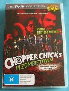 CHOPPER CHICKS IN ZOMBIETOWN DVD Horror/Comedy All Region AUST