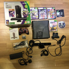 Xbox 360 S 250GB With Accessories, Kinect Sensor, Controller, 6 Games