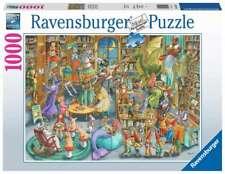 RAVENSBURGER PUZZLE*1000 TEILE*MIDNIGHT AT THE LIBRARY*RARITÄT*OVP