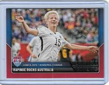 2015 PANINI MEGAN RAPINOE NATIONAL TEAM CARD #1 USA WORLD CUP SOCCER ~ MULTIPLES