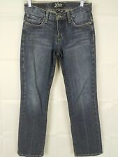 Lucky Brand Jeans Size 2 26 x 30  Straight Cut Denim Medium Wash whiskered