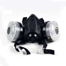 HALF MASK Respirator + Activated carbon Filter Painting Spraying Face Gas Mask