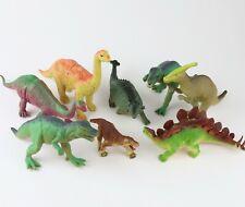 Lot of 8 - Vintage Dinosaurs (T-Rex, Brontosaurus, Stegosaurus)
