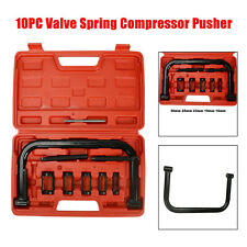 10PC Valve Spring Compressor C-Clamp Service Kit Automotive Tool Motorcycle ATV
