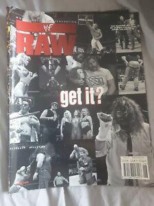 WWF RAW WRESTLING MAGAZINE JUNE 1999 DOUBLE SIDED TORI POSTER / DIVA