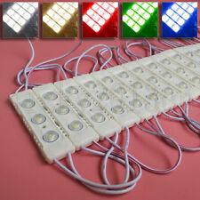 110V/220V 3030 LED Module Light Strip 3LED 2W Injection ABS Waterproof BackLight