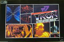 1982 Original Tron Movie Poster Mint Condition