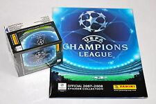 Panini liga de campeones 2007/2008 07/08 - 1 x display box sealed/embalaje original + 1 x álbum