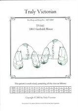 Sewing pattern for 1861 Civil War style Garibaldi drop shoulder blouse TV441