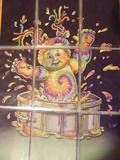 Garbage Pail Kids (GPK)  Brandnew Ser. 2 (Tie Dyna/ Frida Spirit) Cplt. Poster