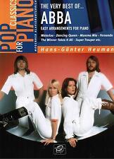 Klavier Noten : ABBA the very best of 1 Pop Classics lei Mittelstufe - B-WARE