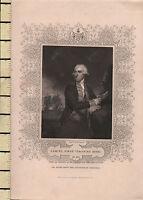C1830 Georgiano Estampado ~ Samuel First Viscount Parasol