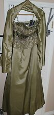 Jovani 2010 evening collection green rn # 81120
