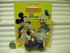 MATCHBOX 1979 WALT DISNEY WD5A1 MICKEY MOUSE MAIL JEEP With MM HOOD C9.5 + CARD*