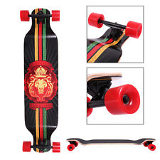 Complete Longboard 41 x 9.5 in. Cruiser Speed skateboard Downhill Canadian Maple