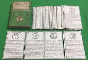 RARE Old c1810 Antique Vanackere ** JEU DE CARTES MYTHOLOGIQUES ** Playing Cards