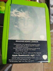 BEATLES JOHN LENNON: Imagine Quad 8 Track Tape McCartney Harrison Starr Stones